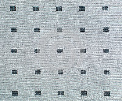 Grey lattice fabric