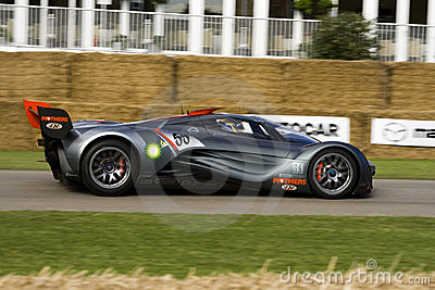 Grey mazda furai concept car Editorial Stock Image