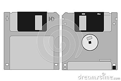 Grey memory disk