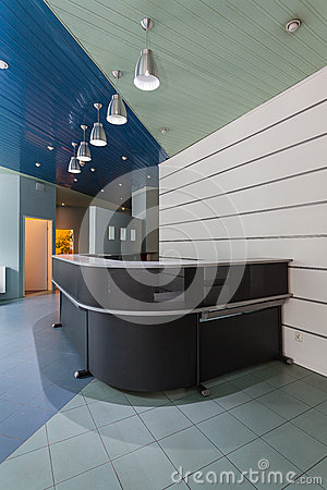 Grey modern counter