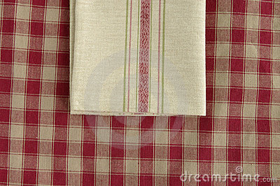 Grey napkin