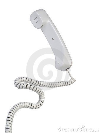Free Grey Offise Telephone Tube Stock Photos - 2400873