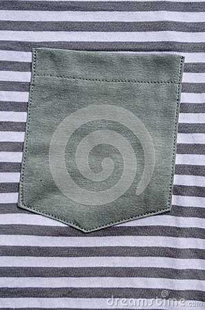 Grey pocket