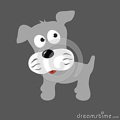 Grey Puppy Schnauzer