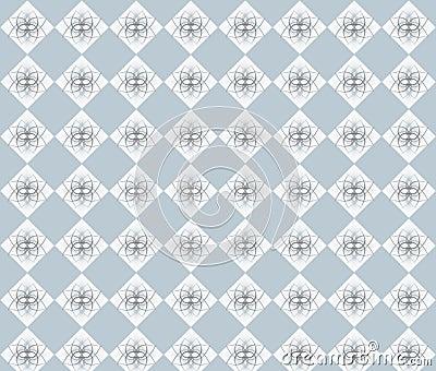 Grey rhombuses