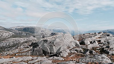 Grey Rock Under White Clouds And Blue Sky During Daytime Free Public Domain Cc0 Image