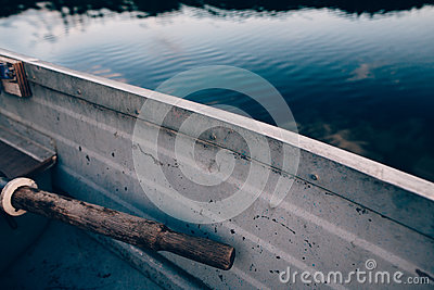 Grey Row Boat On Blue Body Of Water During Daytime Free Public Domain Cc0 Image