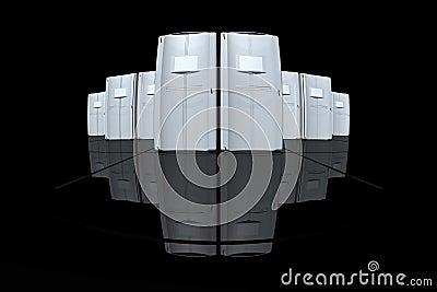 Grey servers