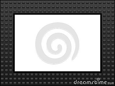 Grey Squares Frame