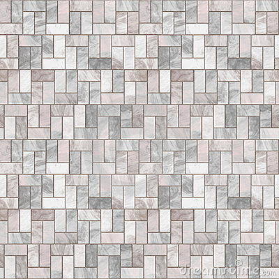 Grey Stone Floor Seamless Pattern