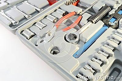 Grey toolbox