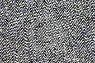 Grey woollen fabric
