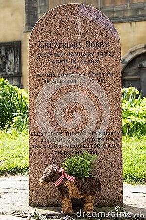 Free Greyfriars Bobby Tombstone In Edinburgh Stock Image - 58363221