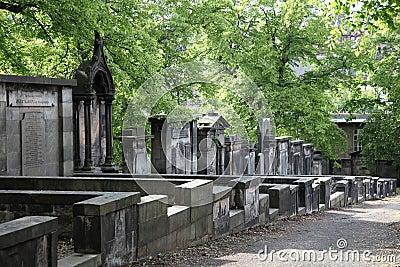 Greyfriars Churchyard Editorial Photography