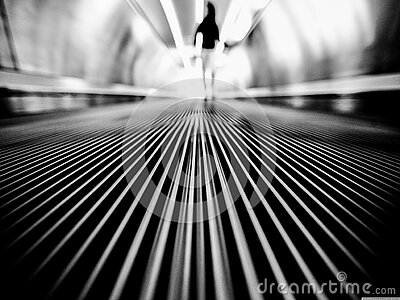 Greyscale Photography Of Man Walking On Tunnel Free Public Domain Cc0 Image