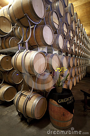 Grgich Hill Winery Editorial Stock Image