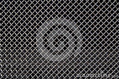Grid from car radiator