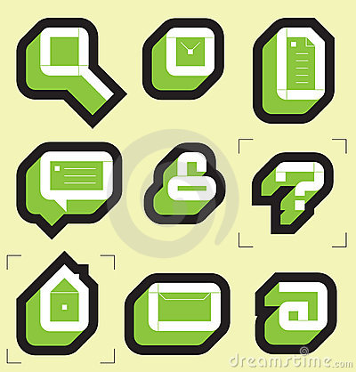Grid icons for web