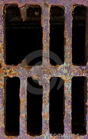 Free Grid Manhole Cover Royalty Free Stock Photography - 15148927