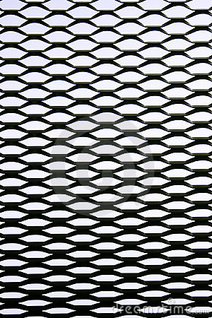 Grid of metal