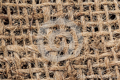Grid Texture of a Potato Sack