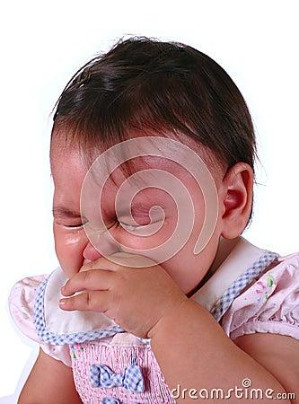 Gridare della neonata
