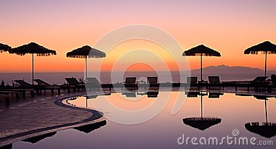 Griechischer Sonnenaufgang