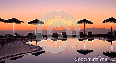 Griekse zonsopgang