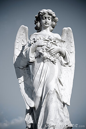 Free Grieving Angel Royalty Free Stock Photos - 8352398