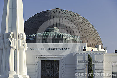 Griffith Observatory Editorial Image