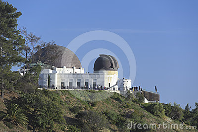 Griffith Observatory Editorial Photo
