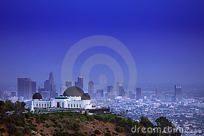 Griffith Observatory in Los Angeles CA Editorial Image