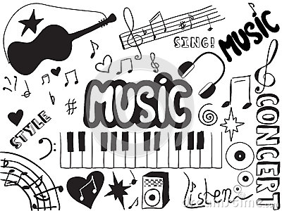 Griffonnages de musique