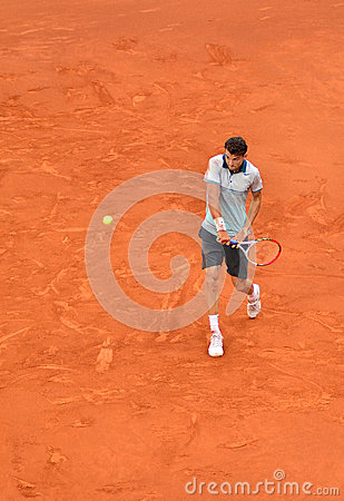 Grigor Dimitrov at the ATP Mutua Open Madrid Editorial Image