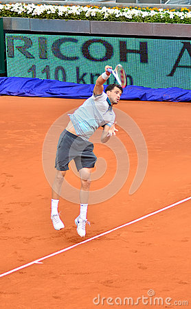 Grigor Dimitrov Editorial Stock Image