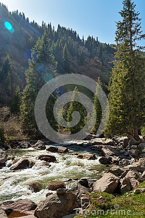 Free Grigorevsky Gorge Stock Images - 45254684