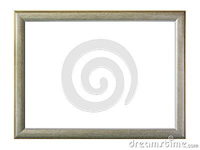 Grijs geïsoleerdn frame