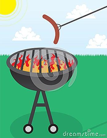 Grill Hotdog