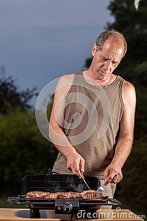 Grill job