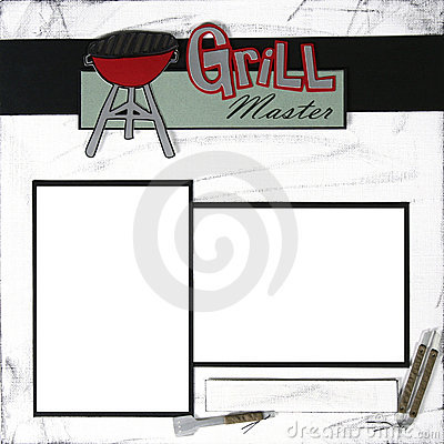 Grill MasterGrill MasterScrapbook Frame Template