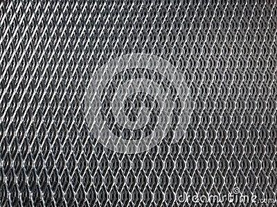 grille en acier galvanis e photo stock image 69148954. Black Bedroom Furniture Sets. Home Design Ideas
