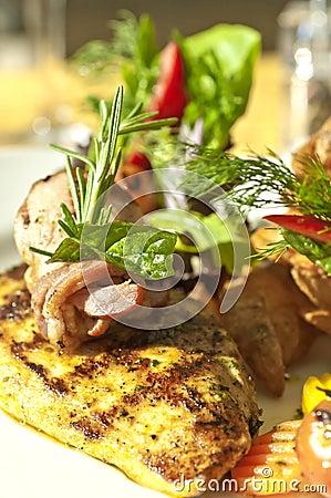 Grilled BBQ Chicken Filet
