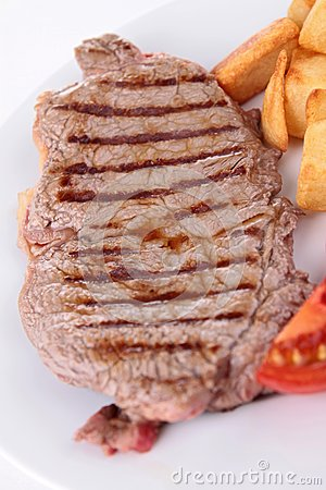 Grilled beef