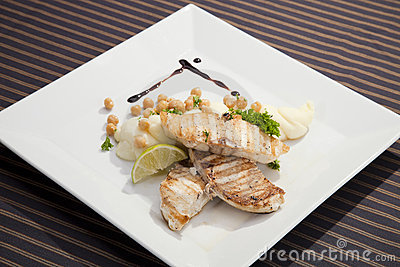 Grilled butterfish  w potato puree