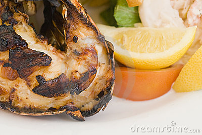 Grilled Caribbean Lobster