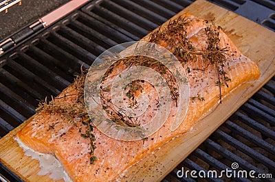 grilled-cedar-plank-salmon-wild-alaskan-fillet-grill-s-seasoned ...