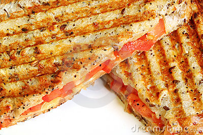 Grilled Cheese and Tomato Sand