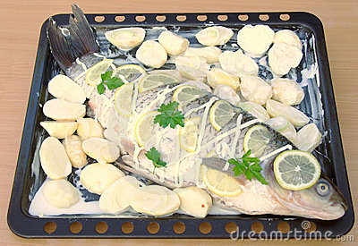 Grilled fish, Recipe 3 (series)