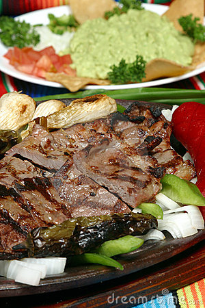 Grilled meat fajita