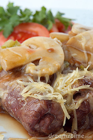 Grilled meat rolls